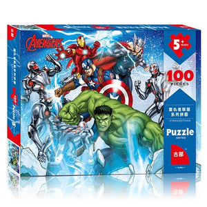 Children Avengers 100-Pieces Jigsaw Puzzle PZ1100E