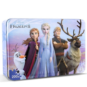Children Frozen II 200-Pieces Jigsaw Puzzle PZ1200A