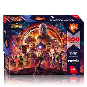 Children Avengers 500-Pieces Jigsaw Puzzle PZ1500B