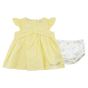 Baby Flutter Dress and Bloomers 2pcs Set G301B