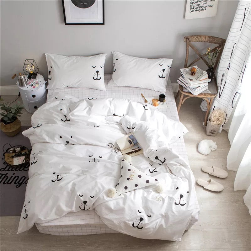 Bedsheet Quilt Cover Bedding Set A6203A