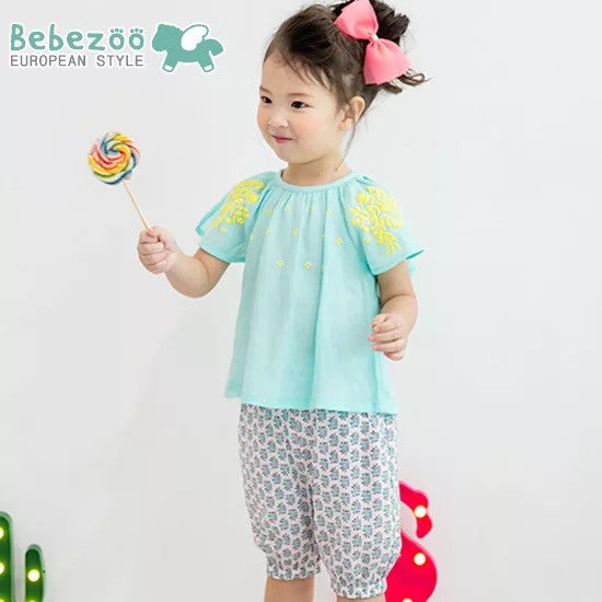 1-4Y Bebezoo Girls Top and Bottom 2pcs Set K2012P