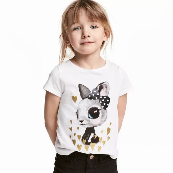 1-6Y Girls Little Maven Short-sleeve Shirts A231L