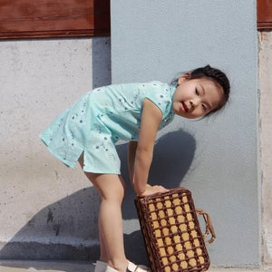 1-8Y Girls Cheongsam Dress A200C19F