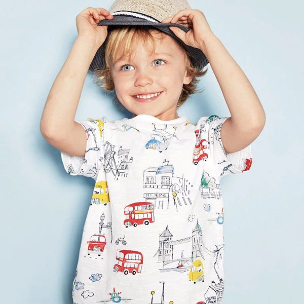 1-6Y Boys Little Maven Short-Sleeve Shirt A1043N
