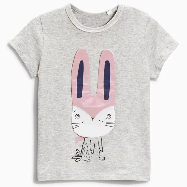 2-7Y Girls Jumping Beans Short-sleeve Shirts A231N