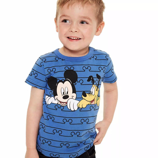 2-7Y Boys Short Sleeve T-Shirt A1043P