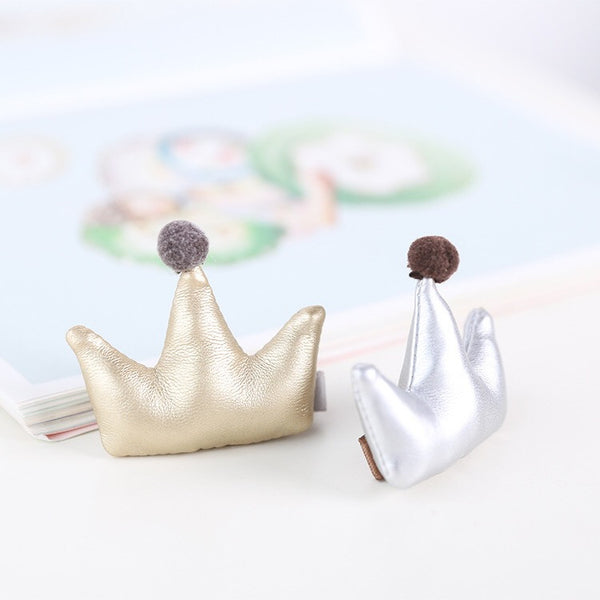 100% Handmade Kids Crown Hairclips A323G83H/ A323G83I
