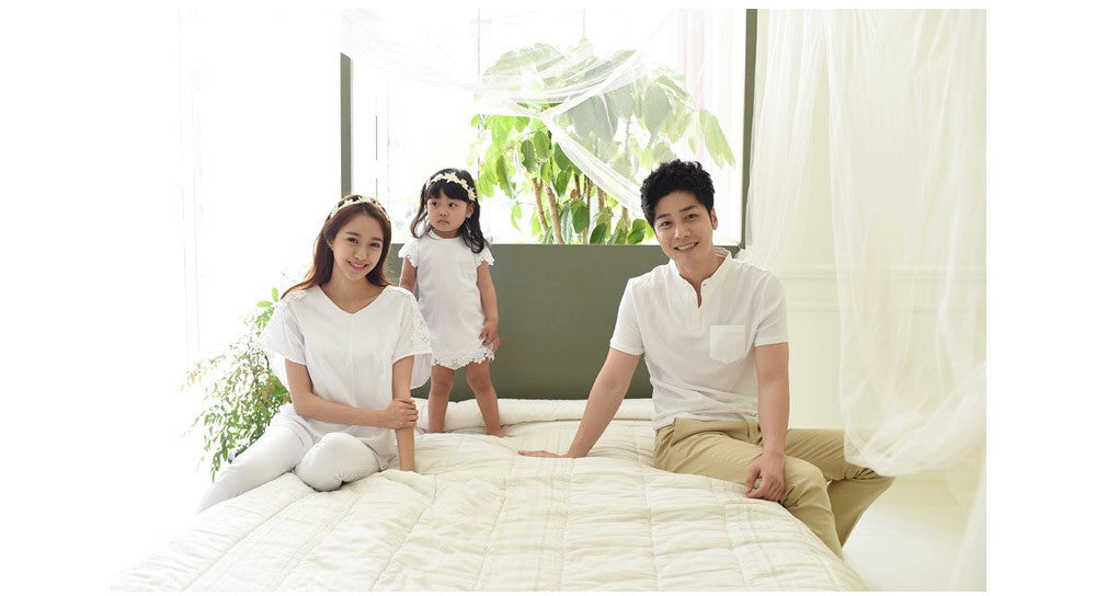 Family White and Lace Style F304