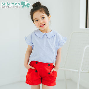 1-6Y Bebezoo Girls Top and Bottom 2pcs Set K20121E