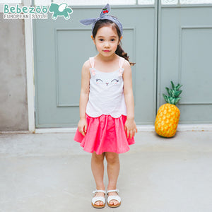 1-6Y Bebezoo Girls Top and Bottom 2pcs Set K20161B