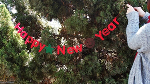 Happy New Year Garland A7222A