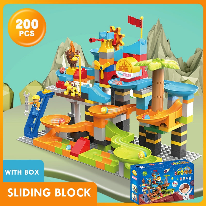 Block and Ball with sprocket Sliding Construction Set T5HD