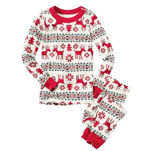 Christmas Pyjamas Sleepwear 2pcs Set A40422A