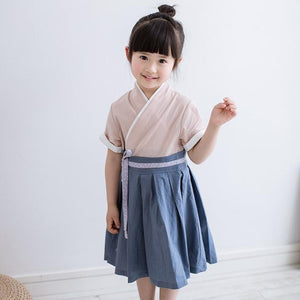 3-10Y Girls Cheongsam Dress A200C12N