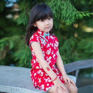 1-8Y Girls Cheongsam Dress A200C62A