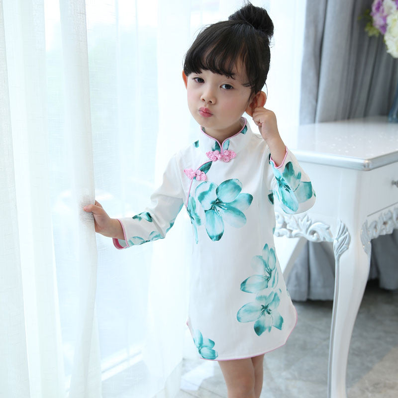 2-6Y Girls Cheongsam Dress A200C2N