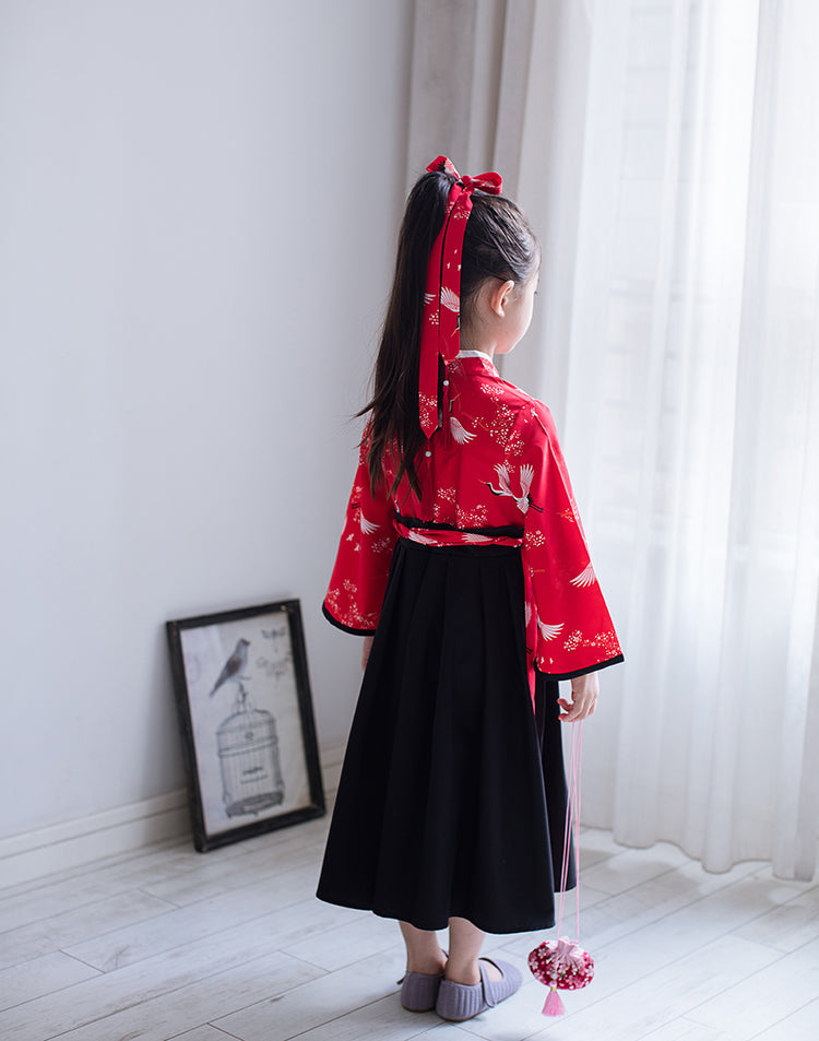 2-8Y Girls Chinese Traditional Dress A200C13N