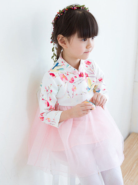 3-7Y Girls Cheongsam Dress A200C2I