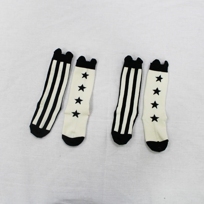 0-4Y Baby/ Kids Knee High Long Socks A3255L13