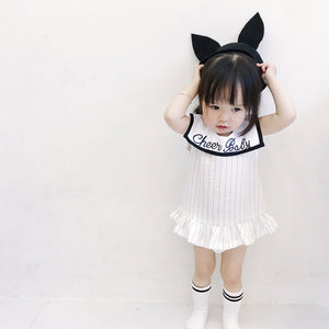 0-6Y Cheery Baby White Dress A2012L