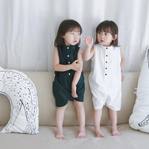 1-7Y Pocketpig Diary Unisex Kids Rompers