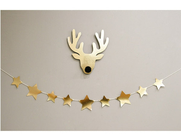 Party Garland Set Gold Stars A7043G