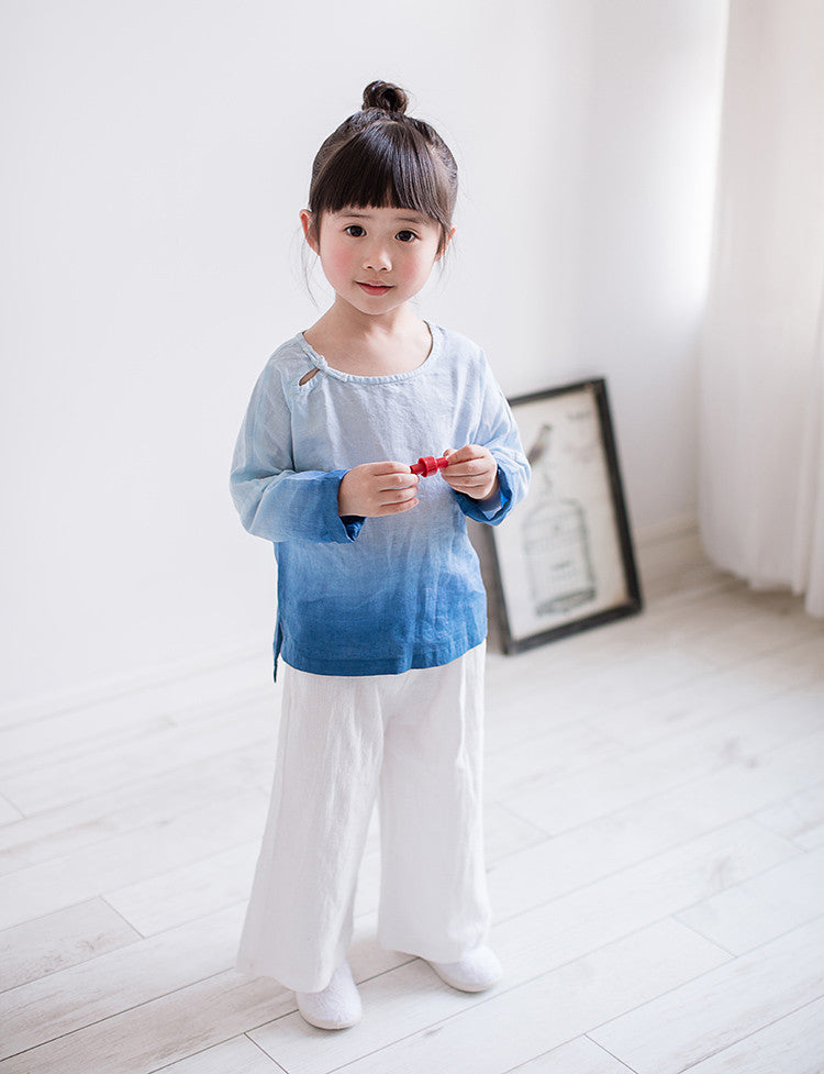 2-8Y Kids Chinese Pants A100C31I