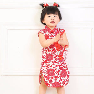 2-10Y Girls Cheongsam Dress A200C19H