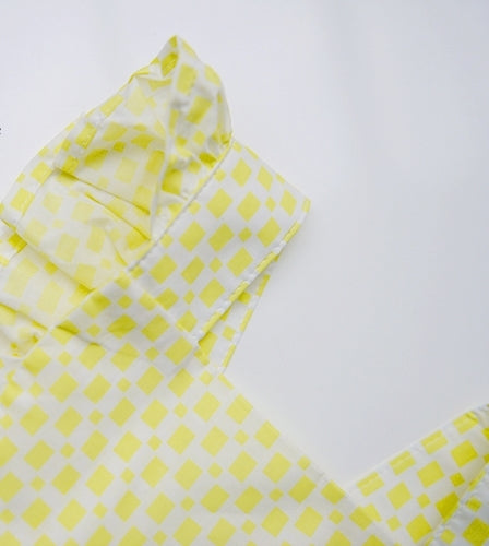 1-4Y Kids Yellow Ruffles Rompers
