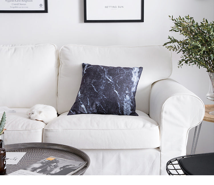 Marble Cushion Cover C665A/C665B