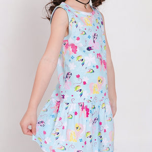 2-7Y Girls Pony Dress A20131H
