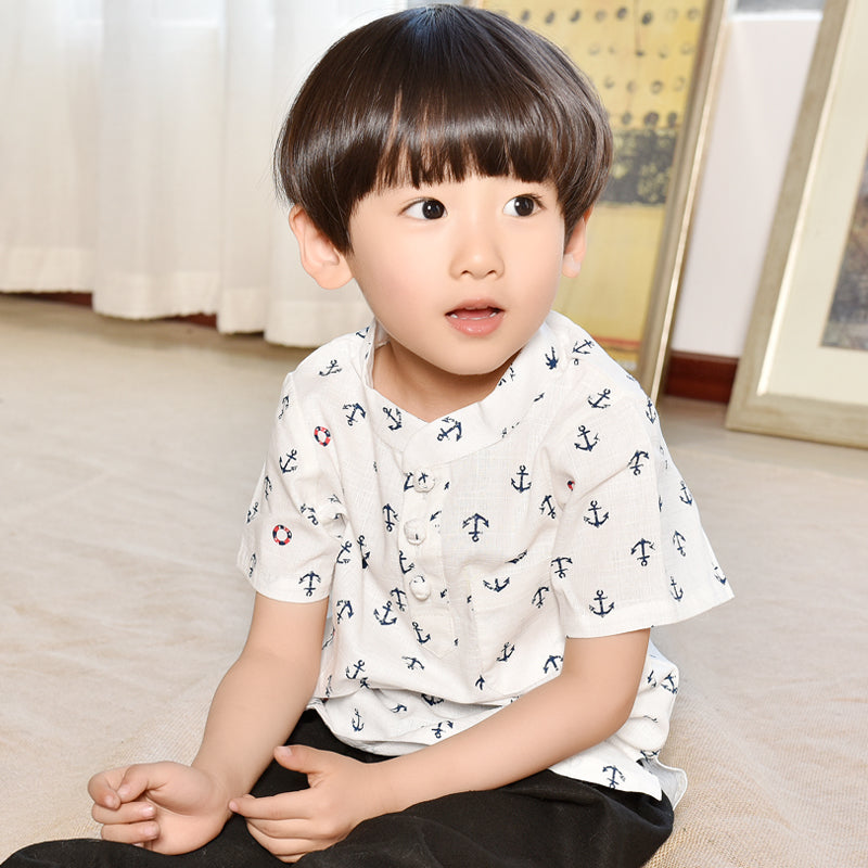 2-10Y Boys Designer Series Chinese New Year outfit A100C14A