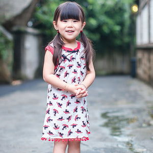 2-10Y Cheongsam with Tassel Detail A200C62E