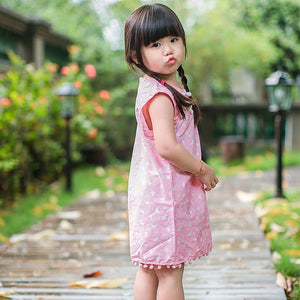 3-10Y Cheongsam with Tassel Detail A200C62F