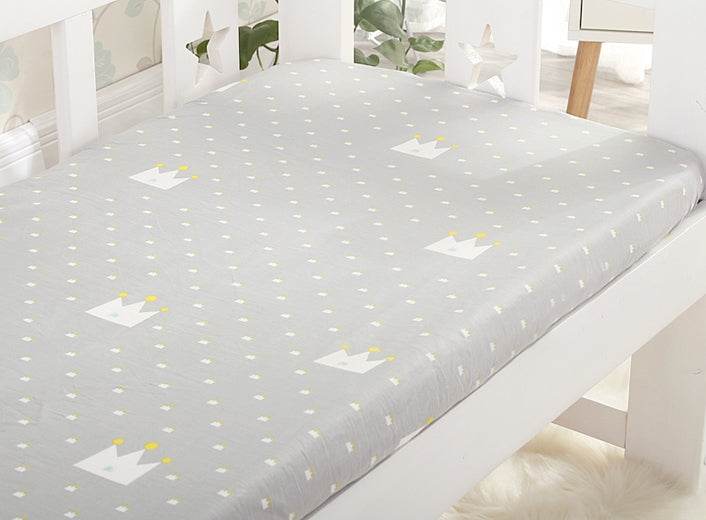 Baby 100% Cotton Cribsheet A60456A