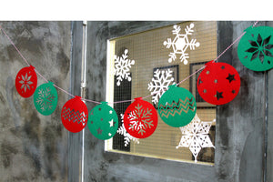 Christmas Garland A722T