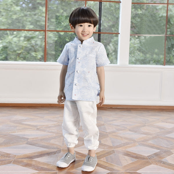 2-8Y Boys Designer Series Chinese New Year outfit C2002F