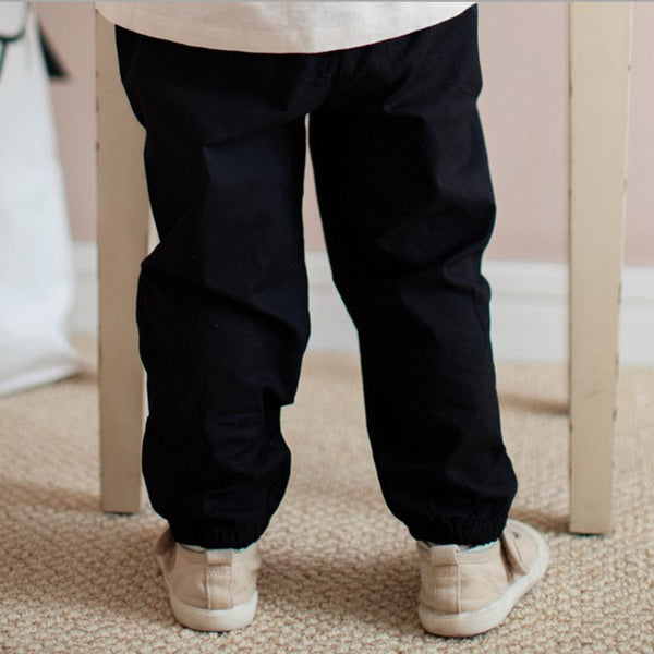2-8Y Kids Kungfu Pants A100C31D