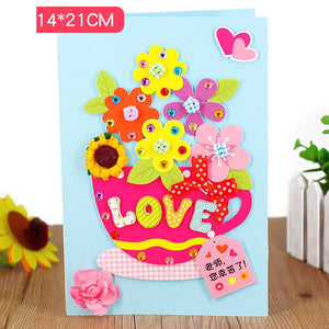 DIY Handmade Card Kit for Friends , Family or Teachers TD1002H