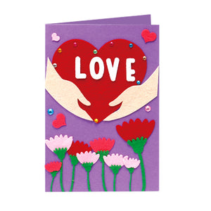 DIY Handmade Card Kit for Friends , Family or Teachers TD1007A