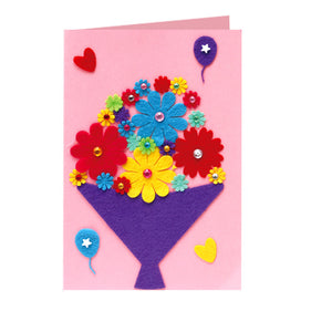 DIY Handmade Card Kit for Friends , Family or Teachers TD1007B