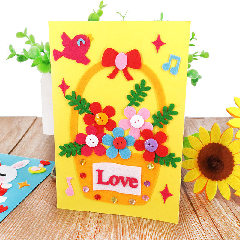 DIY Handmade Greeting Card Kit for Friends , Family and Teachers TD1007D