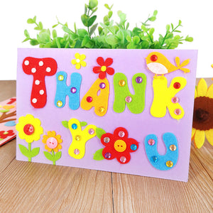 DIY Handmade Greeting Card Kit for Friends , Family and Teachers TD1007E