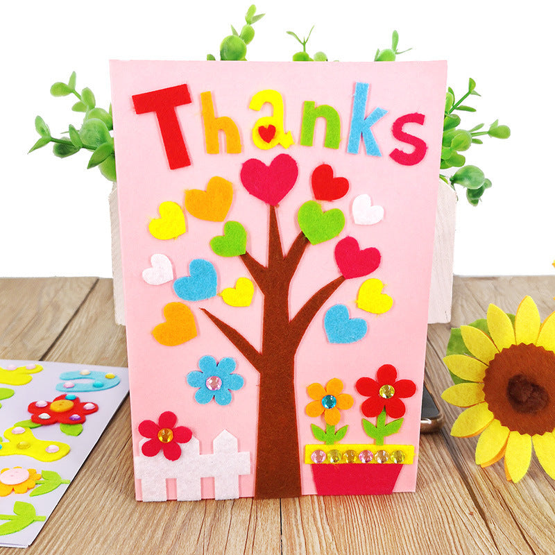DIY Handmade Greeting Card Kit for Friends , Family and Teachers TD1007F