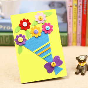 DIY Handmade Greeting Card Kit for Friends , Family and Teachers TD1007G