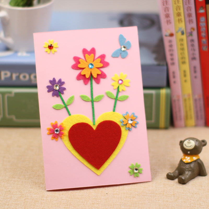 DIY Handmade Greeting Card Kit for Friends , Family and Teachers TD1007I