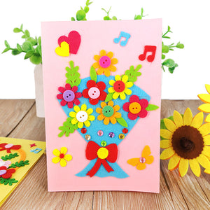 DIY Handmade Greeting Card Kit for Friends , Family and Teachers TD1007J