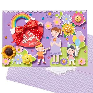 DIY Greeting Card Kit for Friends , Family and Teachers TD1011D