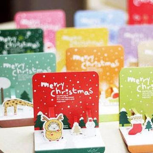 Korea design Christmas Cards Set of 10 - X781F